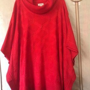 NWT Avenue Poncho Sweater